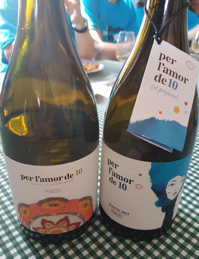 Ambas botellas
