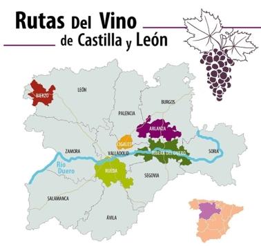 mapa castilla y Leon ii
